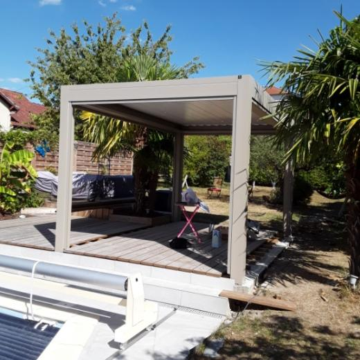 photo pergola bioclimatique